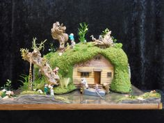 Wind in the Willows Ratty's House