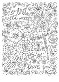 Scripture Garden Christian Coloring For All Ages By Artist Deborah Muller 0641243892627 Colouring PagesAdult