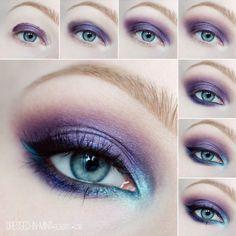@dressedinmint - DISCO inspired #makeup #tutorial ~~ #mua... - EnjoyGram