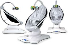mamaRoo baby bouncer (as seen on The Ellen Degeneres Show) The smart baby's bouncer Bouncer Swing, Baby Bouncer, Baby Swings, Baby Must Haves, London Blue Topaz, Free Baby Stuff, Baby Essentials, Baby Registry, Baby Gear