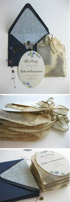What lady doesn't love a tea party!- What lady doesn't love a tea party! Tea party invitations from tea bags What lady doesn't love a tea party! Tea party invitations from tea bags - Tea Party Invitations, Wedding Invitation Envelopes, Bridal Shower Invitations, Invitations Online, Kitchen Tea Invitations, Invites, Bridal Shower Tea, Tea Gifts, Thinking Day