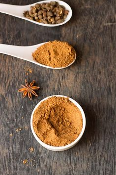 Chinese five spice powder recipe - this is a powder made from five spices which are sichuan pepper, cinnamon, star anise, cloves and fennel seed.
