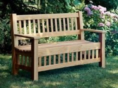 52 different garden bench plans for the mister
