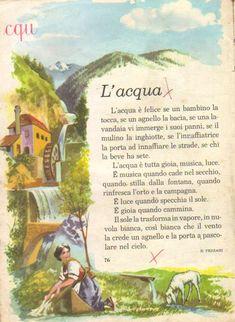 Vintage School, Education, Books, Painting, Paper, Texts, Travel Logo, Book, Italian Language