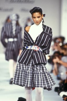 Beauty And Fashion Veronica Webb, Ready To Wear, Fashion Photography, Runway, Spring Summer, Shirt Dress, How To Wear, Shirts, Image