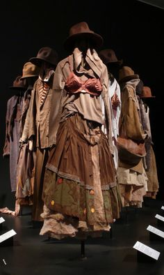 If I could ever find this  Id die happy..  Vivienne westwwod - Nostalgia of Mud 1982 by Museums Sheffield, via Flickr