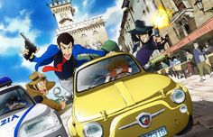 All new Lupin III TV series coming to Italy and Japan in Hold on to your hats folks, because this is BIG news! A new Lupin III TV series is on its way both Italy and Japan. J Games, Comic Games, Fiat 500, Arsen Lupin, Troll, Japanese Video Games, Lupin The Third, Kaito Kid, Character Poses