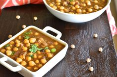 This is not your regular Channa Masala- (Indian curry made using chickpeas) this is a Punjabi no-garlic/no tomato version that uses tamarind. Vegetarian Curry, Vegetarian Recipes, Cooking Recipes, Healthy Recipes, Free Recipes, Ginger Chutney Recipe, Chutney Recipes, Chickpea And Potato Curry, Channa Masala