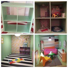 Weil Barbiehäuser zu PINK sind!