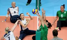 USA golden in sitting volleyball final against China! 18.09.2016 China's unbeaten run at the Paralympic Games comes to an end while there are also celebrations for Brazi - Brazil vs. Ukraine in Women's Sitting Volleyball at Rio 2016
