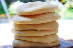 fluffy, homemade pita bread. you can even use your bread machine to do all the dirty work!