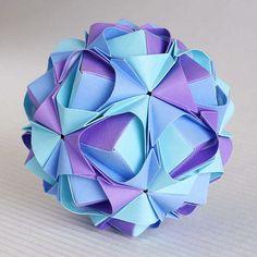 Sonobe variation | Name: Sonobe variation Parts: 30 Joint: n… | Maria Sinayskaya | Flickr
