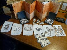 I was happily carving away on my speedy cut stamps making all manner of pods and seeds for printing on tea bags and handmade paper with th...