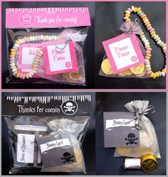 Pirate & Princess Party Favors