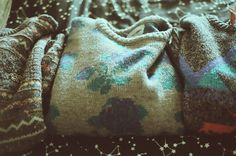 textile and print sweaters.