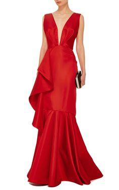 Princess Victoria Mermaid Gown by JOHANNA ORTIZ Now Available on Moda Operandi