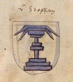 Wappen derer von Stauffer / Coat of Arms of The Family von Stauffer / Armas de la Familia von Stauffer