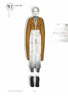 ARTS THREAD Portfolios - ARTS THREAD d-5Fashion Illustration | Fashion sketch…