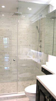 Ensuite Bathroom And Shower contemporary master ensuite bathroomregina sturrock design