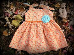 Hey, I found this really awesome Etsy listing at https://www.etsy.com/listing/169385331/orange-creamsicle-baby-dress-little