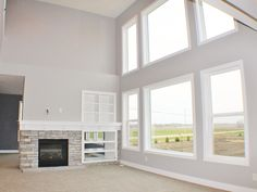 Beautiful Great Room in the New Home Plan of our Jamestown!
