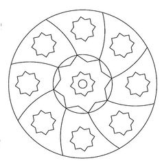 Maestra de Infantil: Mandalas para colorear. Mandalas de profesiones. Mandala Coloring Pages, Colouring Pages, Free Coloring, Adult Coloring, Coloring Books, Mandala Art, Mandala Design, Tangle Doodle, Zentangle