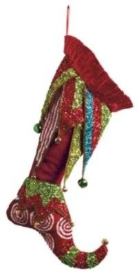 Enchanted Christmas Stocking - eclectic - holiday decorations - by Grandin Road Christmas Stocking Pattern, Christmas Sewing, Noel Christmas, Victorian Christmas, Whoville Christmas, Christmas Images, Whimsical Christmas, Christmas Decorations To Make, Felt Snowman