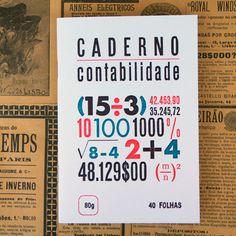 Caderno Contabilidade http://casaruim.com/produto/caderno-contabilidade/