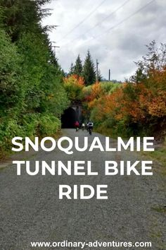 Everything you need to know to do a round trip or one way ride through the historic Snoqualmie tunnel at Snoqualmie pass in Washington state Washington State Parks, Redmond Washington, Washington Usa, Snoqualmie Pass, Snoqualmie Washington, Columbia Travel, Stuff To Do, Things To Do, Beach Trip