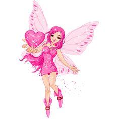 Pink Fairies Cartoon Clip Art - Fairies Magical Images
