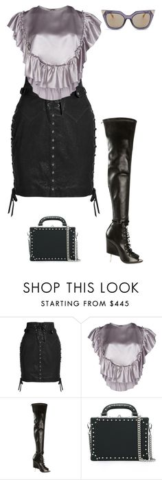 """""""Untitled #736"""" by luxeyfaux ❤ liked on Polyvore featuring Isabel Marant, Simone Rocha, Givenchy, Bertoni and Fendi"""