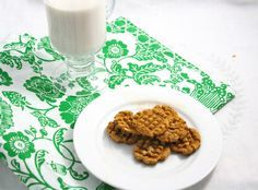 The World's Healthiest Ginger Cookies- vegan, gluten free, low carb, and only 6 calories each!