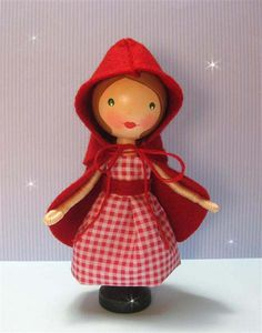 Red Riding Hood (sold) by enchantedbelles, via Flickr