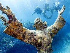 Музей под водой