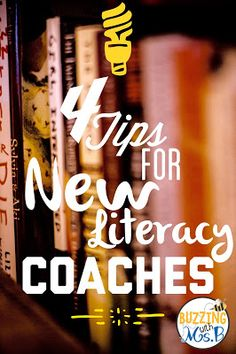 Four tips for new instructional coaches: listen, stay organized, budget your time, and know your job description!