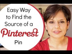 Easy way to find Source of image for Pinterest Pins with Chrome Extension