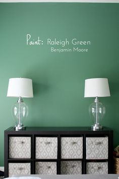 Possibly The Perfect Green Paint Raleigh Green By Benjamin Moore Twins Shared Bedroom