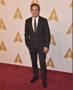 Pin for Later: Lady Gaga, Leonardo DiCaprio & Co. geben einen Vorgeschmack auf die Oscars Mark Ruffalo