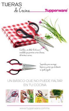 Tijeras de cocina #Tupperware - https://www.facebook.com/TienditadeBellezaLaguna/
