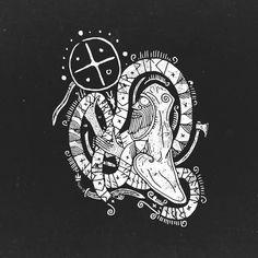 Viking Symbols, Egyptian Symbols, Viking Art, Viking Runes, Ancient Symbols, Wiccan Tattoos, Symbolic Tattoos, Thors Hammer, Vikings
