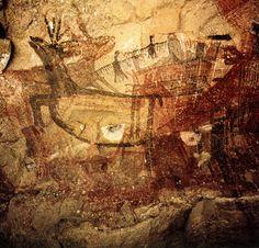 Cueva Pintada pictographs - Baja California