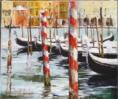 Grand canal 50x60 oil on canvas 2005