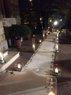 Στολισμος γαμου με ελια & τριανταφυλλα
