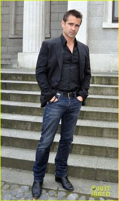 Colin Farrell: 'Total Recall' Promotion in Dublin!