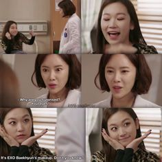"""It's EXO Baekhyun's makeup. Don't you know?"" Kim Seulgi and Hwang Jung Eum in Kill Me, Heal Me"