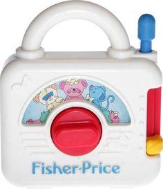 Fisher-Price - 1992 - Music Box 2475 Fisher Price, Grandchildren, Nostalgia, Retro, Cool Stuff, Box, Music, Musica, Snare Drum