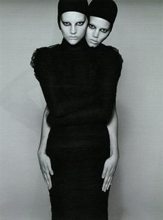 Freja Beha and Sara Blomqvist: A is for Androgyny