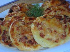 Самые вкусные рецепты: Картофельные ватрушки с курицей