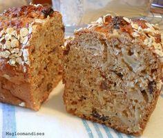Recette de Cake pommes avoine sans beurre et peu sucré : la recette facile