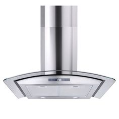 "30"" Range Hood Kitchen Wall Mount Stainless Steel Glass Stove Vents USA Stock #Yescom"